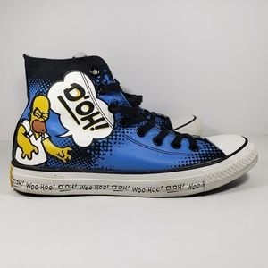 Converse Shoes - The Simpsons Converse Chuck Taylor's Homer Unisex